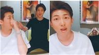 Jimin BTS học tiếng Anh 8 tiếng liền trên chuyến bay vì 'cay' RM