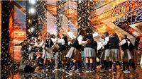 America's Got Talent: Dàn hợp ca thiếu niên đường phố giành 'nút vàng' nhờ màn diễn bùng nổ