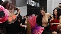 Fan phấn khích kéo tụt váy Dương Mịch, nhưng cách ứng xử của người đẹp mới gây chú ý