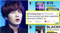 Trang bình chọn sập, ARMY lo BTS mất giải MTV vì bị 'chơi khăm'