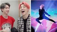 Jimin cười sặc sụa khi phải so sánh tài vũ đạo với... Jin