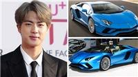 Jin BTS tậu siêu xe hơn nửa triệu USD nhân kì nghỉ dưỡng