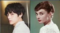 Ngắm V BTS trong loạt ảnh như 'bản sao' của Marilyn Monroe và Audrey Hepburn