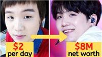 Thời cơ cực của Suga BTS: Từng phải chọn dùng những đồng xu cuối để ăn hay đi bus