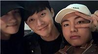 V BTS và Park Seo Joon làm gì khi sang nhà nhau ngủ