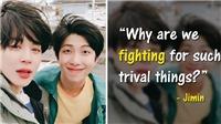 RM, Jimin kể cách BTS giải quyết khi mâu thuẫn nội bộ