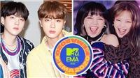 BTS, Blackpink càn quét đề cử Giải thưởng Âm nhạc MTV Châu Âu