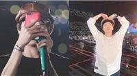 ARMY phát cuồng vì video BTS do V đích thân quay