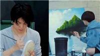 BTS gây choáng khi khoe tài vẽ tranh không thua họa sĩ