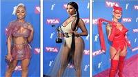MTV VMA 2018: 'Sao' trong những bộ cánh gây 'tức mắt' bậc nhất trong sự kiện thảm đỏ