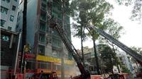 Cháy khách sạn trên đường Trần Hưng Đạo, TP HCM: Đã giải cứu 19 người