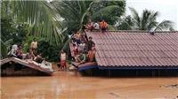 Vỡ đập thủy điện tại Lào: Ảnh hưởng không đáng kể đến lũ ĐBSCL, Quân khu 5 Việt Nam tham gia cứu hộ