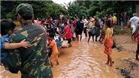 140 chiến sĩ Quân đội Nhân dân Việt Nam hỗ trợ Làovụ vỡ đập Thủy điện Xepian - Xe Nam Noy