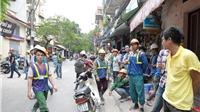 Cảnh sát PCCC Hà Nội: 'Không có chuyện nghiêng lún tòa nhà tại Lương Yên do dư chấn động đất'