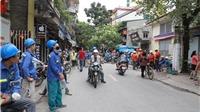 VIDEO một số tòa nhà Hà Nội rung chuyển do ảnh hưởng dư chấn động đất