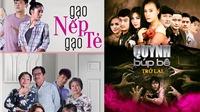 Lịch phát sóng phim truyền hình 'Gạo nếp gạo tẻ', 'Quỳnh búp bê'