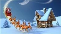 Google 'Mừng mùa lễ hội' với ông già Noel, cây thông Noel, tuần lộc, kẹo que