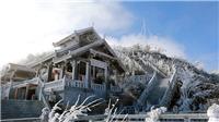 Rét đậm kéo dài qua Tết Dương lịch, vùng núi cao có băng giá