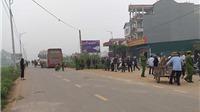 CẬP NHẬT vụ xe khách đâm đám tang ở Vĩnh Phúc: Khởi tố bị can, bắt tạm giam 4 tháng tài xế lái xe khách