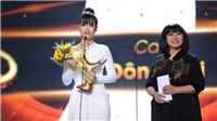 Lễ trao giải Giải Âm nhạc Cống hiến 2019: Đông Nhi khóc khi đoạt giải thưởng Ca sĩ của năm