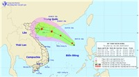 Tin bão: Áp thấp khả năng mạnh lên thành bão, Bắc Biển Đông,Tây Bắc mưa dông rất lớn