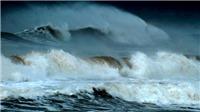Vùng Áp thấp đã mạnh lên thành Áp thấp nhiệt đới giật trên cấp 8