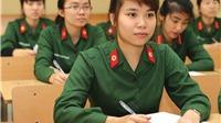 Điểm chuẩn Đại học 2019: Điểm trúng tuyển các trường ĐH, CĐ khối quân đội