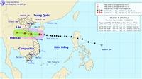 Bão số 4 vào đất liền các tỉnh Nghệ An-Quảng Trị và suy yếu thành áp thấp nhiệt đới