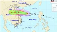 Bão số 4 tiến nhanh vào đất liền từ Nghệ An đến Quảng Bình và suy yếu