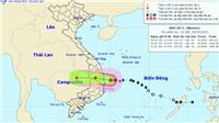 Bão số 5 giật cấp 12 ven bờ các tỉnh Quảng Ngãi, Bình Định, Phú Yên