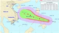 Tin bão mới nhất cơn bão PhanFone mạnh giật cấp 12 gần Biển Đông
