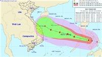 Tin bão mới nhất: Bão Phanfone giật cấp 14 và đi vào Biển Đông