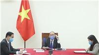 Dịch COVID-19: Thủ tướng Chính phủ Nguyễn Xuân Phúc điện đàm với Thủ tướng Quốc vụ viện Trung Quốc Lý Khắc Cường