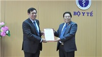 Công bố quyết định chuẩn y Bí thư Đảng ủy Bộ Y tế với đồng chí Đỗ Xuân Tuyên