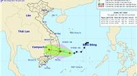 Vùng áp thấp đi vào vùng biển Phú Yên đến Khánh Hòa gây mưa lớn