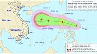 Áp thấp nhiệt đới di chuyển theo hướng Tây Tây Bắc và sẽ mạnh thêm thành bão