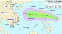 Áp thấp nhiệt đới khả năng mạnh lên thành bão tiến vào miền Trung