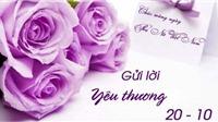 Lời chúc 20/10 không thể thiếu được trong ngày Phụ nữ Việt Nam
