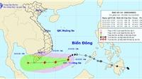 Bão số 14 suy yếu thành áp thấp nhiệt đới, Quảng Ngãi đến Bình Thuận mưa rất to