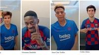 TikTok và Barcelona ra mắt thử thách #BarcelonaChallenge