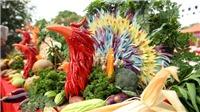 Cận cảnh tuyệt phẩm 'Ngũ Phụng Cung Đình' của nghệ nhân ẩm thực Tịnh Hải
