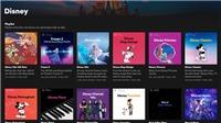 Disney Hub nay đã có mặt trên Spotify tại nhiều nơi ở châu Á