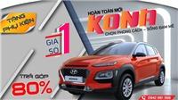 Mua Kona - Nhận ưu đãi hấp dẫn, hỗ trợ trả góp tới 80%, tặng phụ kiện tại Hyundai Cầu Diễn