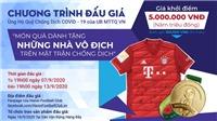 Áo đấu của Bayern Munich và HCV Cúp Quốc gia 2019 được đấu giá lên tới 100 triệu