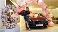 Hoa hậu Hương Giang sở hữu xe sang giá hơn 8 tỷ đồng