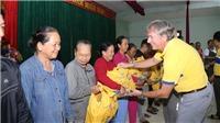 Bia Larue tổ chức trao quà cứu trợ 800 hộ gia đình chịu ảnh hưởng bão lụt tại tỉnh Quảng Nam