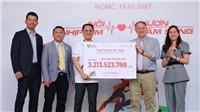 Hơn 3 tỷ đồng được quyên góp từ chương trình 'Chạy vì trái tim 2020'