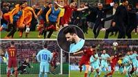 Video bàn thắng trận AS Roma 3-0 Barcelona