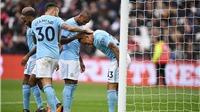 Video clip highlights bàn thắng West Ham 1-4 Man City: Sterling lập hat-trick kiến tạo