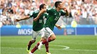 Video clip bàn thắng trận Đức 0-1 Mexico